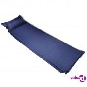 vidaXL Zračni madrac 6 x 66 x 200 cm Plavi jastuk na napuhavanje