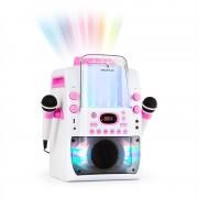 Auna Kara Liquida BT караоке устройство, светлинно шоу, воден фонтан, bluetooth, бяло / розов цвят (MG3-KaraLiquida BTwp)