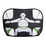 Alcoa Prime GreenPortable Pop Up Soccer Goal Foldable Football Target Training Toy Gift