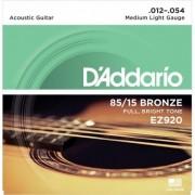 D'addario EZ920 85*15 Great American Med-Light [12-54]