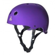 Triple Eight - Dual Certified with EPS Glossy Purple - Helm