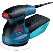 Şlefuitor cu excentric Bosch Professional GEX 125-1 AE, 250 W, 12.000 rpm, 24.000 vibraţii/min., Diametru disc 125 mm, Albastru, 0601387500