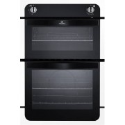 New World White Built In Gas Oven Separate Grill