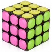 Cubo Rubik Yongjun 3x3 Diamond De Alta Velocidad