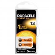 Baterie Duracell pentru aparat auditiv DA13 6buc