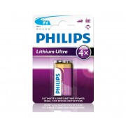 Philips 6FR61LB1A/10 - Baterie cu litiu 6LR61 LITHIUM ULTRA 9V