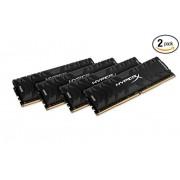 HyperX Predator Black 32GB 2400MHz DDR4 CL12 DIMM (Kit of 4) XMP (HX424C12PB3K4/32)