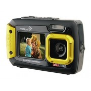 Ivation 20MP Underwater Shockproof Digital Camera & Video Camera w/Dual Full-Color LCD Displays – Fully Waterproof & Submersible Up to 10 Feet