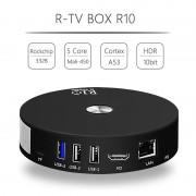 TV BOX R10 4K Kodi 17.4 Bluetooth RK3328 Quad Core Android 7.1.2 4GB RAM 64GB ROM Wifi dual band 3D Video Slot Card HDR