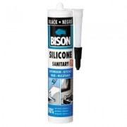 Etanseizant - BISON - Silicon Sanitar negru 280 ml