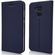 Para Huawei Honor V9 PLAY funda con voltaje magnético (1 tarjeta) funda de piel