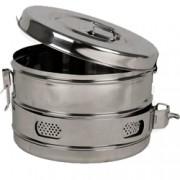 cestello drum per sterilizzazione in acciaio inox - autoclavabile - ø2