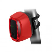 Meilan X6 Smart Switch 6 Flash Models Rechargeable Bicycle Tail Light(Red)