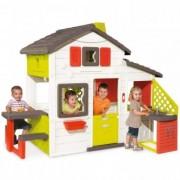 Casuta pentru copii 3 Ani+ Smoby Friends Playhouse cu bucatarie
