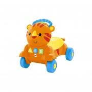 Andador, caminador, correpasillo tigre camina conmigo Fisher Price CLK85, naranja