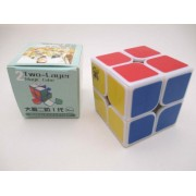 Dayan 2013 Dayan Zhanchi 2X2 I White 46Mm Speed Cube 2X2X2 Puzzle