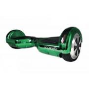 """Hooboard Clasic Verde- Scuter cu auto-echilibrare, Hoverboard, Certificat UL, 2 x 350 W, roți 6.5 """", verde, Bluetooth"""