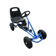 Kids Pedal Powered Racing Go Kart Blue