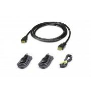 Kit cavo KVM di sicurezza USB HDMI da 1,8 M
