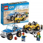 Lego 60082 City Great Vehicles Dune Buggy Trailer
