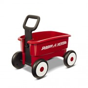 Radio Flyer My 1st 2-in-1 Wagon Ride On Red