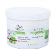 Wella Elements maschera intensiva per i capelli secchi e danneggiati 500 ml