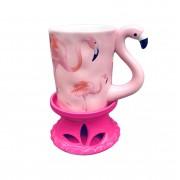 Olajmelegítő - flamingó