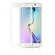 Folie Sticla Samsung Galaxy S6 Edge+ g928 Alb Fullcover Tempered Glass Ecran Display LCD