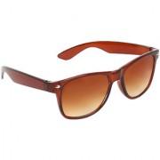 Zyaden Brown UV Protection Wayfarer Unisex Sunglasses