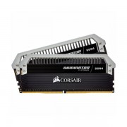 CORSAIR DOMINATOR PLATINUM 16GB 2 x 8GB DDR4 DRAM 2666MHz C15 Memory Kit CMD16GX4M2A2666C15