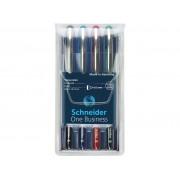 ROLLER SCHNEIDER ONE BUSINESS 0,6 MM, 4 culori