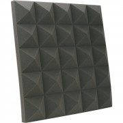 MUSIC STORE Absorber-Set Standard, antr. 2x Panel de absorción, 600x600x70
