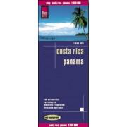 Wegenkaart - landkaart Costa Rica & Panama | Reise Know-How Verlag