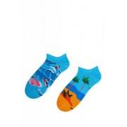Bratex Popsox 8644 pánské kotníkové ponožky 36-38 oranžová