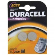 Duracell Button Battery Lithium 3V DL2032 Pack of 2 75072668