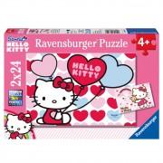 Ravensburger dječje puzzle Hello Kitty