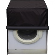 Glassiano Dustproof And Waterproof Washing Machine Cover For Front Load 7KG_LG_F80E3NDL2_Coffee