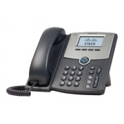 Cisco Systems Small Business SPA 502G - VoIP-telefoon - 3-weg geschikt voor oproepen - SIP, SIP v2, SPCP - enkelvoudige lijn - zilver, donkergrijs - voor Small Business Pro Unified Communications 320 with 4 FXO