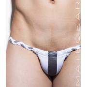 Mategear Hae Sang IV Seamless Xpression Series Mini Bikini Swimwear White 1491002