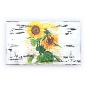 Cuier din lemn handmade floarea soarelui 1412
