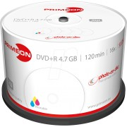 PRIM 2761226 - DVD+R 4.7GB/120Min, 50-er Cakebox