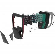 Delux T9 Plus 29 Teclas Teclado Mecánico De Una Mano Teclado Con Cable USB - Negro