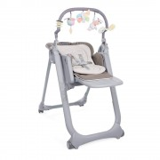 Chicco Chaise Haute Polly Magic Relax - 4 Roues MARRON Chicco