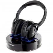 Meliconi Hp300 Professional Cuffie Wireless Portata Max 100 M Con Base Di Ricari