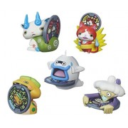 BEST Seller Yo-Kai Watch Medal Moments Wave 2 SET OF 5 Action Figure - Jibanyan Whisper Komasan Noko Tattletell