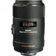 Sigma 105mm F2.8 EX HSM OS macro 1:1 Obiectiv pentru Nikon FX