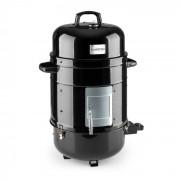 Barney 3-in-1 BBQ-Grill Elektrogrill Smoker 1800W 3x40cm Thermometer