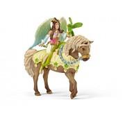 Schleich Surah in Festive Dress on Horseback Toy Figure