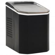 vidaXL Aparat de făcut cuburi de gheață, negru 1,4 L, 15 kg / 24 h