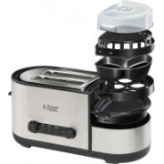 Russell Hobbs RBFS1150 1150 W Pop Up Toaster(Grey, Black)